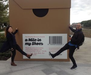 A Giant Shoebox!