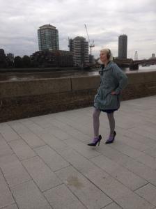 Timbelina's size 12 high heels