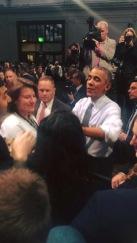 Obama greeting